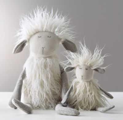 Wooly plush lamb - large - RH Baby & Child