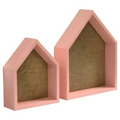 """2 Pack House Shelves with Pinboard - Pillowfortâ""""¢ - Target"""