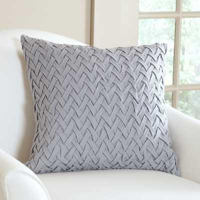 """Lane Pillow Cover - 20""""SQ/Stone - Birch Lane"""