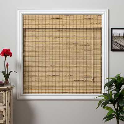 Mandalin Bamboo Long Roman Shade - 32x54 - Overstock