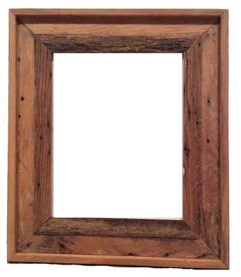 8x10 Barnwood Picture Frame with Glass - Etsy
