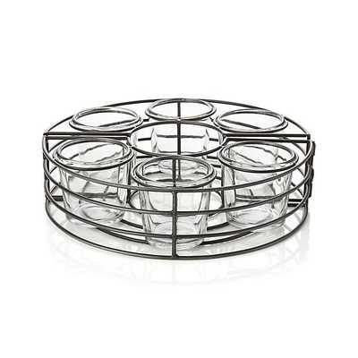Umbrella Tea Light Centerpiece - Crate and Barrel