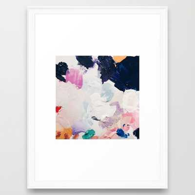 "Rue Art Print - 20"" x 26"" - Scoop White Frame - Society6"