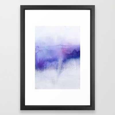 Subtle Horizon 15x21 framed - Society6