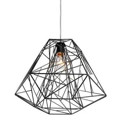 The Wright Stuff 1 Light Pendant - Domino