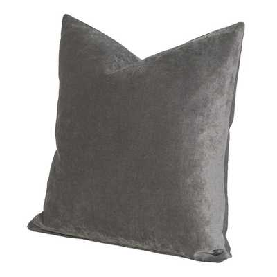 "Padma Throw Pillow - Smoke, 17"" x 17"" (With Insert) - AllModern"