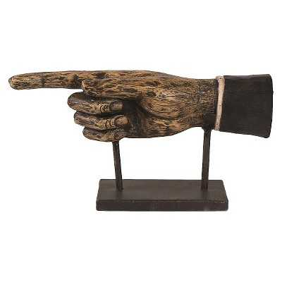 Decorative Figurine Resin - Black/Brown - Target