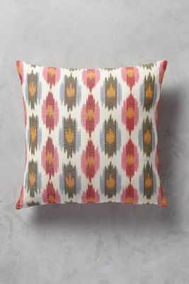 "Erinna Ikat Pillow-18""-polyfill - Anthropologie"