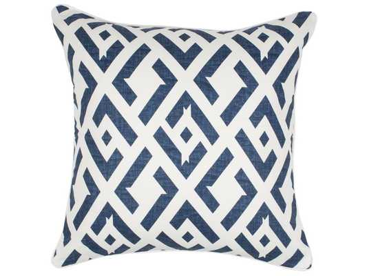 TATE GEOMETRIC PILLOW COVER WITH INSERT - Curated Kravet