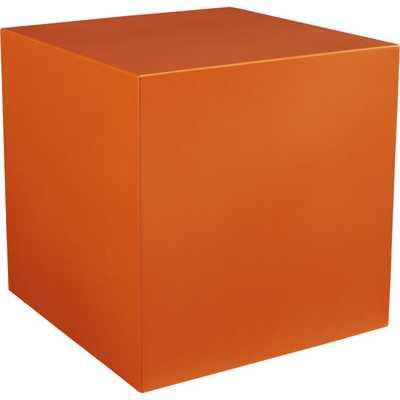 Cube table-planter - CB2