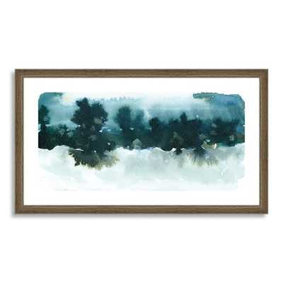 "Minted for west elm - Night Falling - 26""x15"" - Framed - West Elm"
