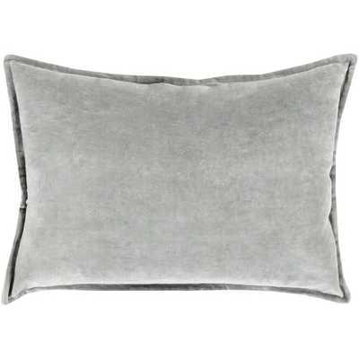 "Lumbar Pillow- 13"" H x 19"" W- Dark Gray- Insert Included - AllModern"