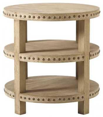 Nailhead End Table - Home Decorators