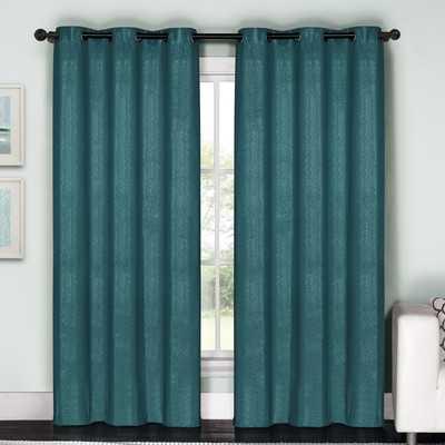 "Starlet Curtain Panel - White - 84"" - Wayfair"