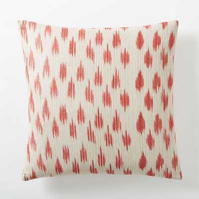 Metallic Ikat Dot Pillow Cover - 20x20 - West Elm