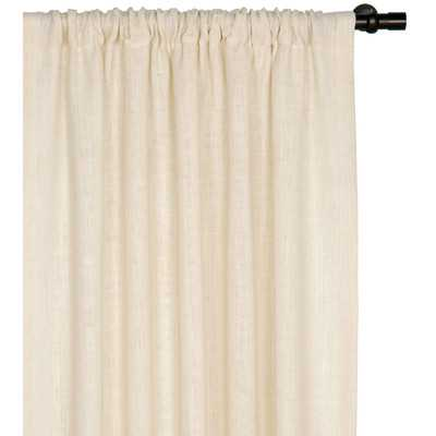 Rustique Burlap Rod Pocket Single Curtain Panelby Eastern Accents - Wayfair