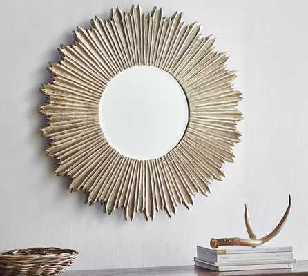 Soleil Wall Mirror - Pottery Barn