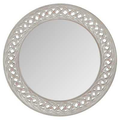 Safavieh Braided Chain Decorative Wall Mirror Grey - Target