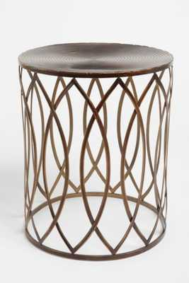 Concentric Metal Side Table - Urban Outfitters