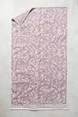 Philippa Towel Collection - Purple, Bath towel - Anthropologie