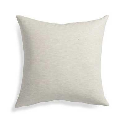 Linden Natural  Pillow - Crate and Barrel