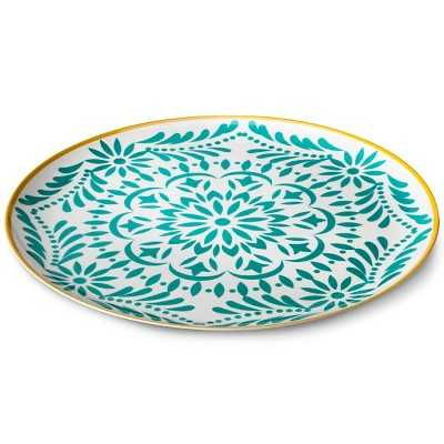 Marika Melamine Round Serving Platter - Target
