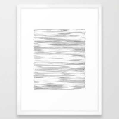 More Lines - Framed - Society6