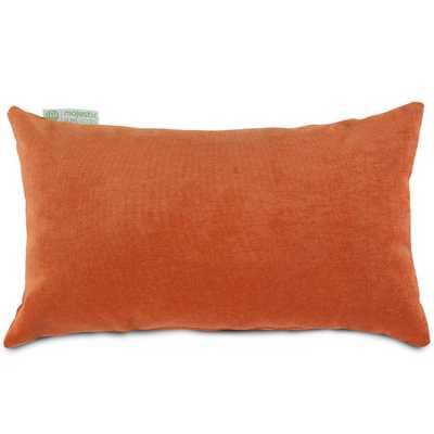 """Bramma Lumbar Pillow -Orange-12"""" H x 20""""-polyester fill insert - AllModern"""