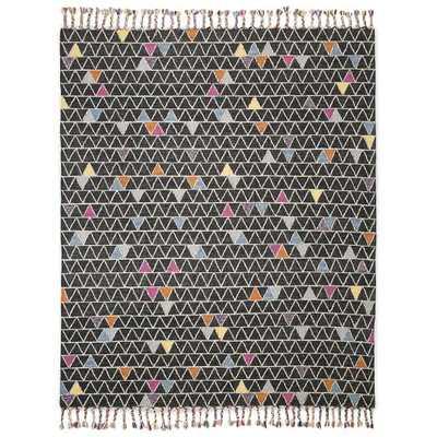 Zohra Wool Kilim Rug -  8'x10' - West Elm