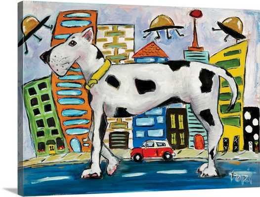 Urban Dog Wall Art - greatbigcanvas.com