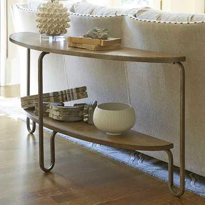 Moderne Muse Demilune Console Table - Wayfair