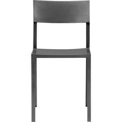 industry chair - Raw zinc - CB2