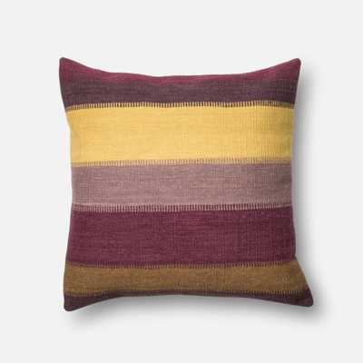 P0164 PLUM / MULTI-22 x 22-with down insert - Loma Threads