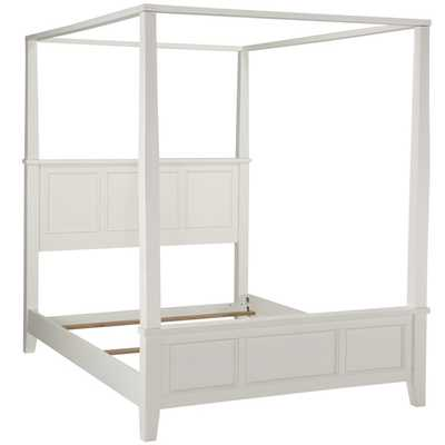 Home Styles Naples King Canopy Bed - Overstock