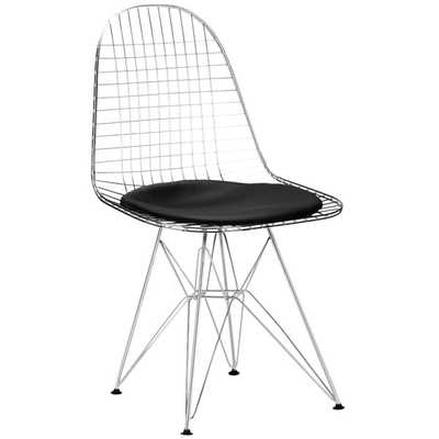 Hamlet Wire Side Chair in Black (Set of 2) - Overstock