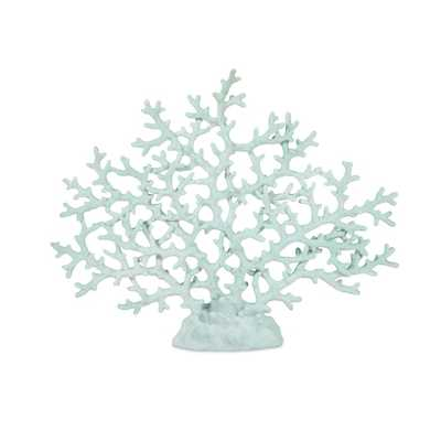 Haines Teal Coral - Overstock