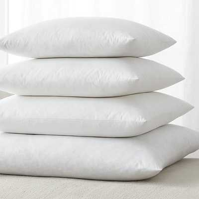"Feather-Down Square Pillow Inserts-23"" sq. - Crate and Barrel"