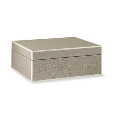 Faux Shagreen Box - Large - Williams Sonoma