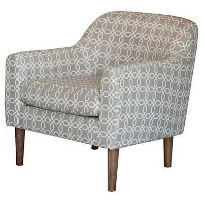 Winston Retro Chair - Grey and White Pattern - Target