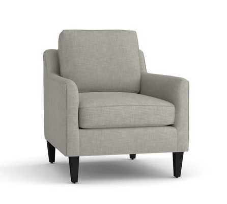 BEVERLY UPHOLSTERED ARMCHAIR - Pottery Barn