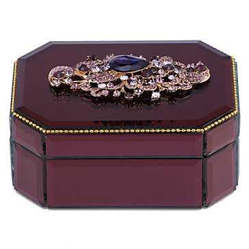 Annabelle Box - Aubergine - Z Gallerie
