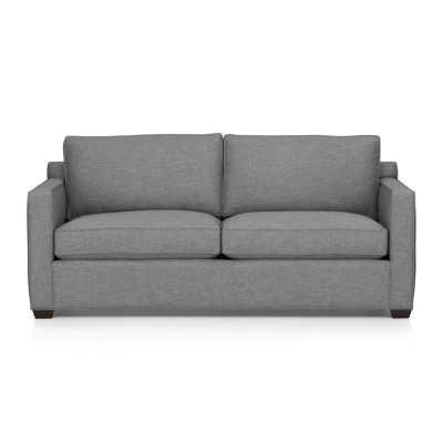 Davis Queen Sleeper Sofa - Ash - Crate and Barrel