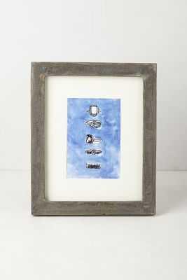 Minimalist Gallery Frame - Grey, 4x6 - Anthropologie