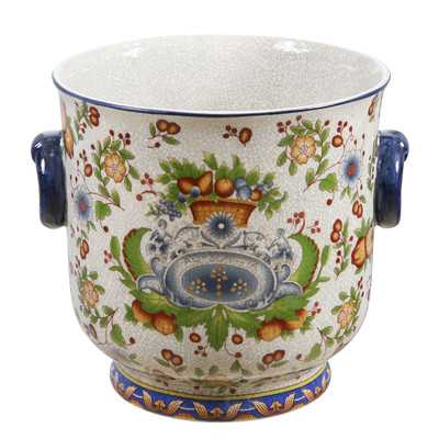 Tuscan Round Pot Planter - Wayfair