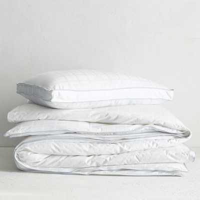 Classic Duvet Insert - Cooling Down Alternative-King - West Elm