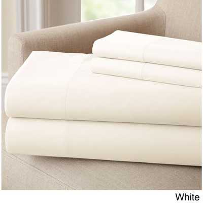 Rayon from Bamboo Rich 4-piece Sheet Set - king - Overstock
