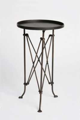 Metal Accordion Side Table - Antique Bronze - Urban Outfitters