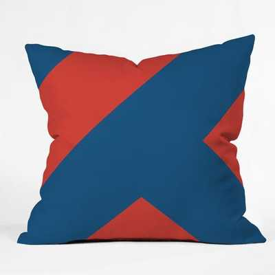 "CC2 Throw Pillow -18''x 18""-insert included - Wander Print Co."