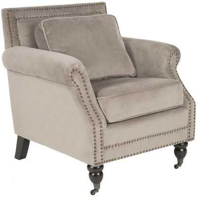 Karsen Club Chair - Mushroom Taupe - Wayfair