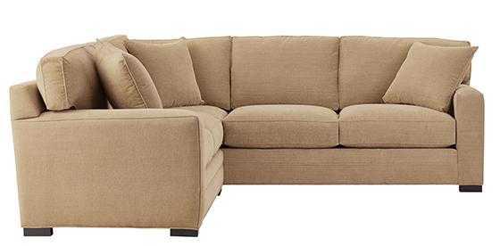 Lindon Upholstered 2-Piece Sectional-Tori Parchment - Home Decorators